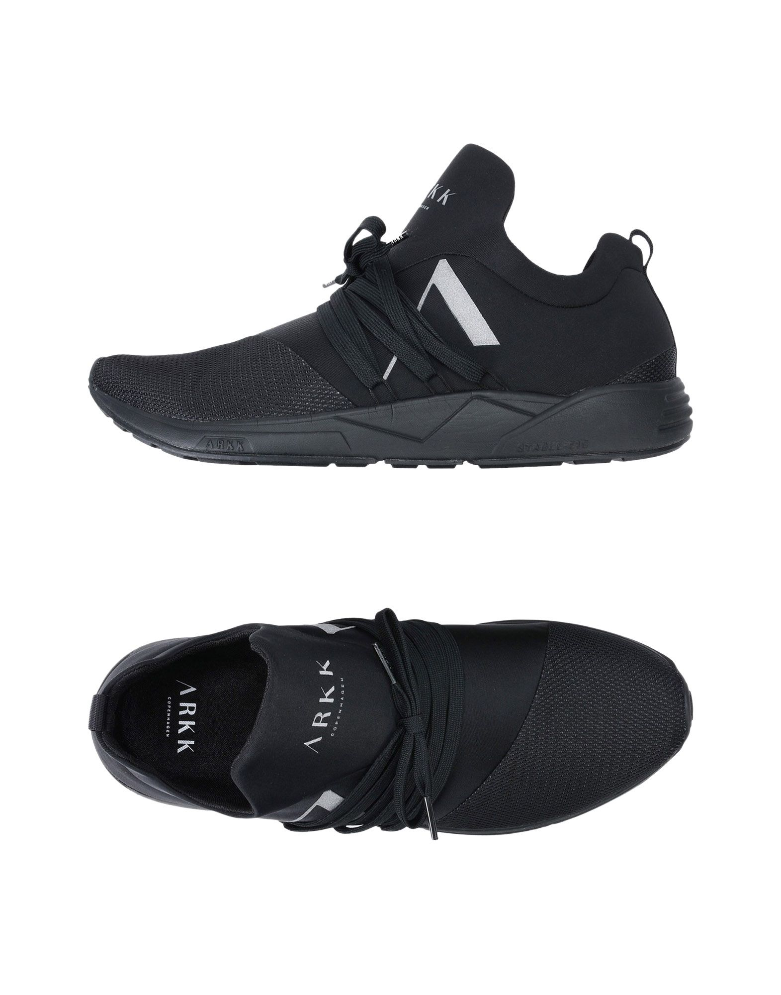 Sneakers Arkk Copenhagen Raven Mesh S-E15 Black Reflective - Uomo - 11406269AS
