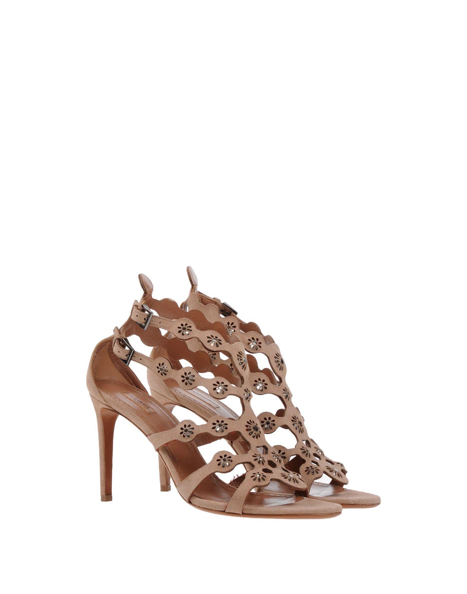 Alaïa Schuhe Sandalen Damen  11406531FD Heiße Schuhe Alaïa 6ee0ea