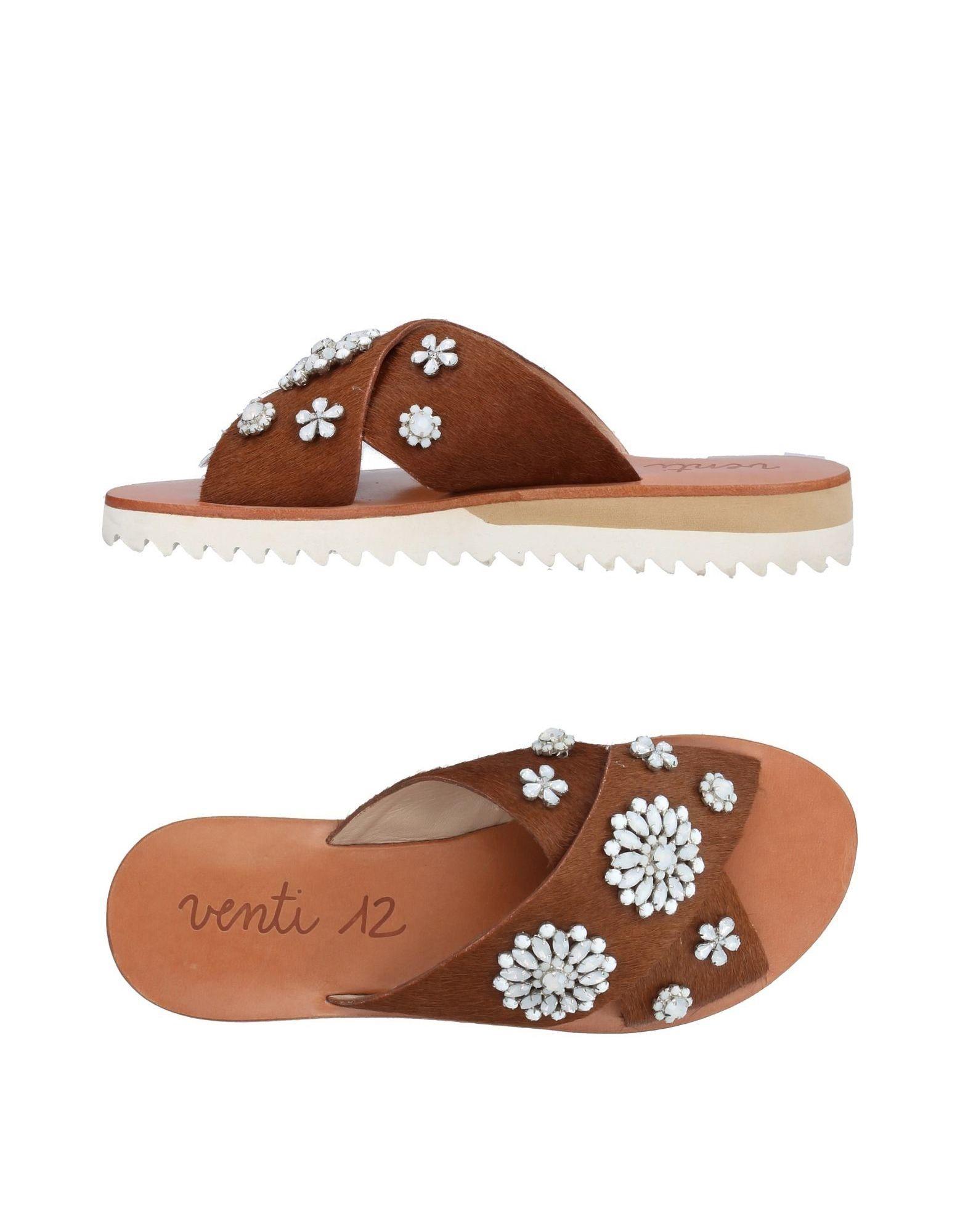 Venti 12 Sandalen Damen  11406660BK Gute Qualität beliebte Schuhe