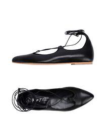 Enfants De Proserpine Cloutés Chaussures De Ballerine - Blanc daqfCmNf