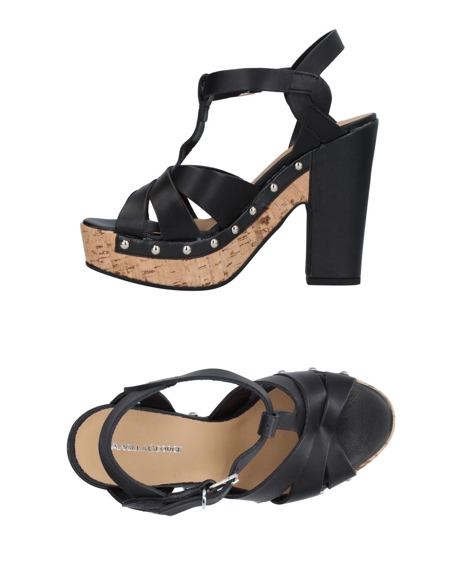Angela George Sandalen Damen  11406865NS Gute Qualität beliebte Schuhe