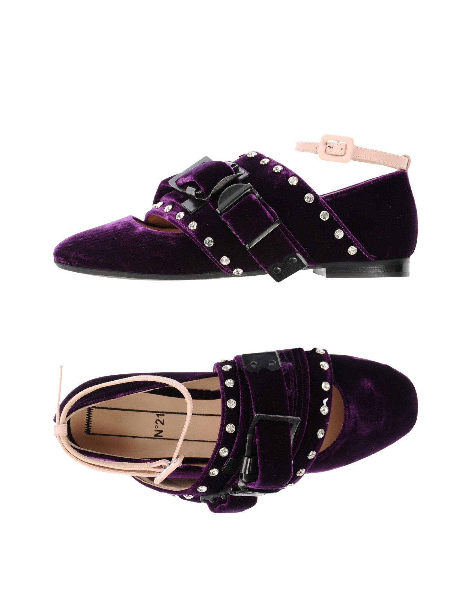 N° 21 Ballet Flats - Women N° 21 Ballet Flats Kingdom online on  United Kingdom Flats - 11406904IE f7e194
