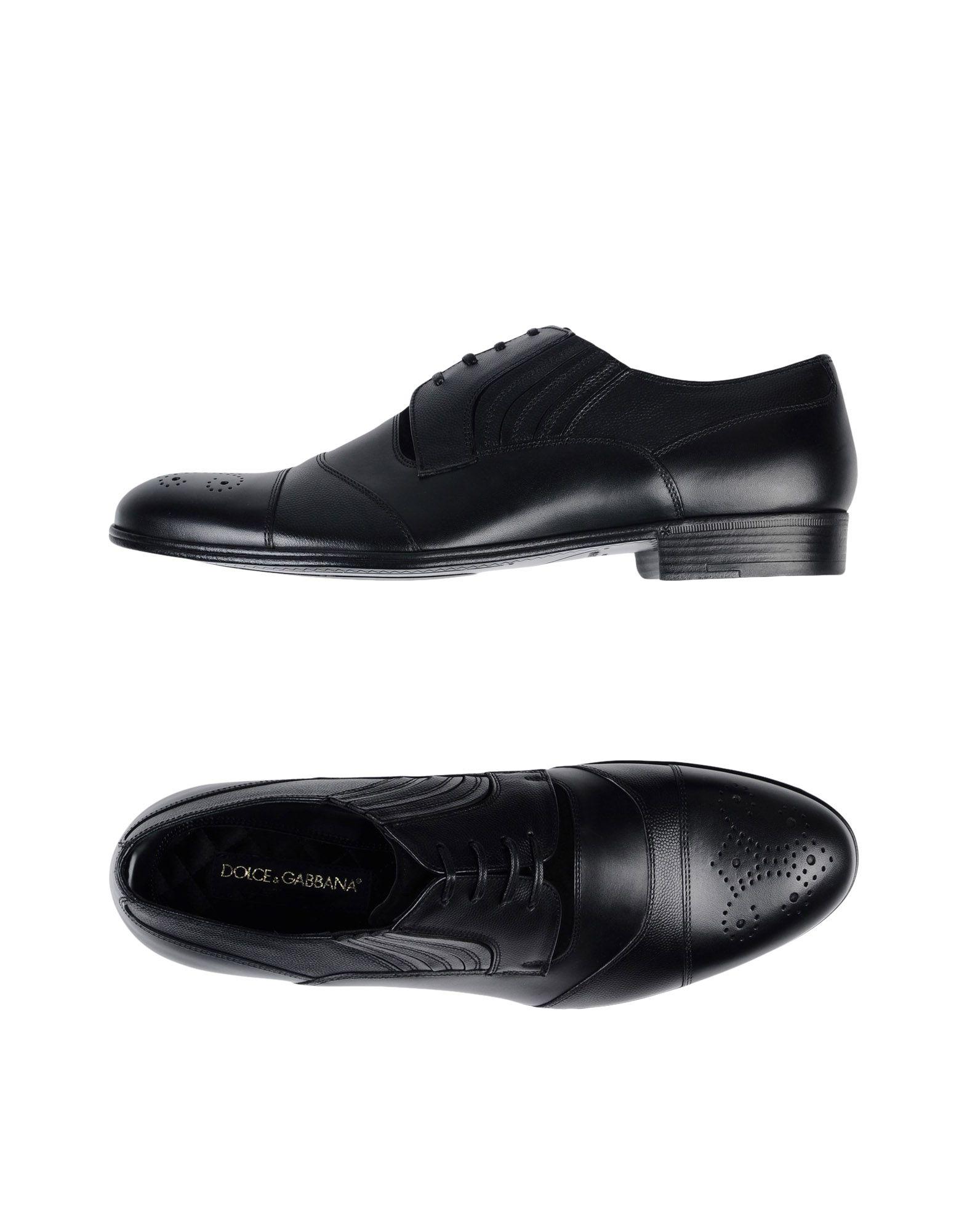 Stringate - Dolce & Gabbana Uomo - Stringate 11407120WT a8d6dd