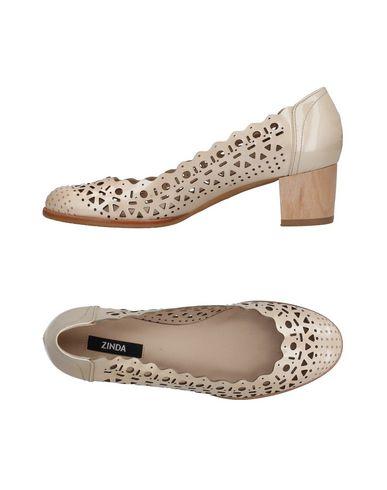 Los últimos zapatos de mujeres descuento para hombres y mujeres de Zapato De Salón Zinda Mujer - Salones Zinda - 11407420JC Beige 202ff2