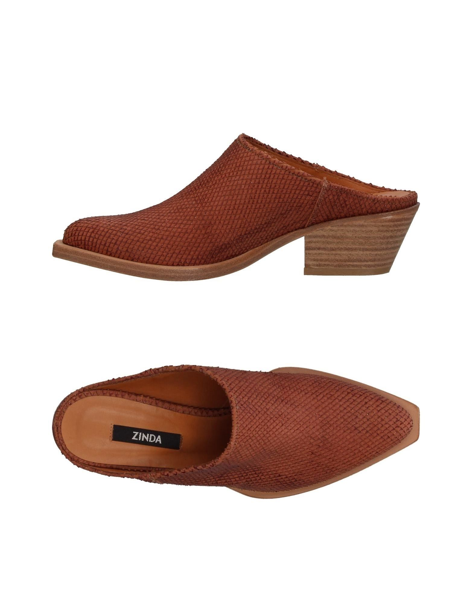 Zinda Pantoletten Damen  11407456MP Gute Qualität beliebte Schuhe