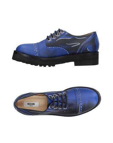 Zapatos especiales para hombres y Moschino mujeres Zapato De Cordones Moschino y Mujer - Zapatos De Cordones Moschino - 11407674RP Negro dcd230