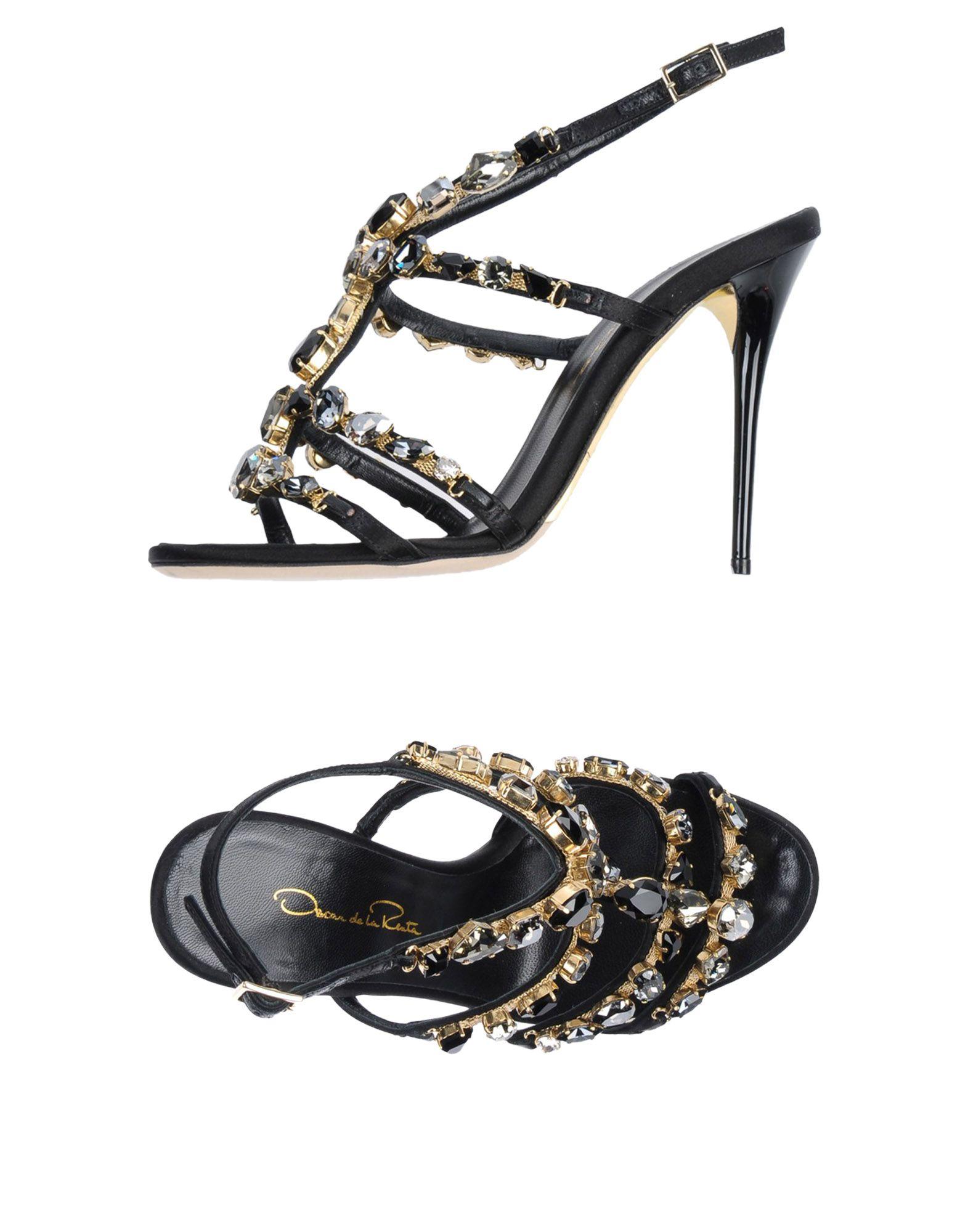 Oscar De La Renta Sandalen Damen    11407802GQ Heiße Schuhe e49374