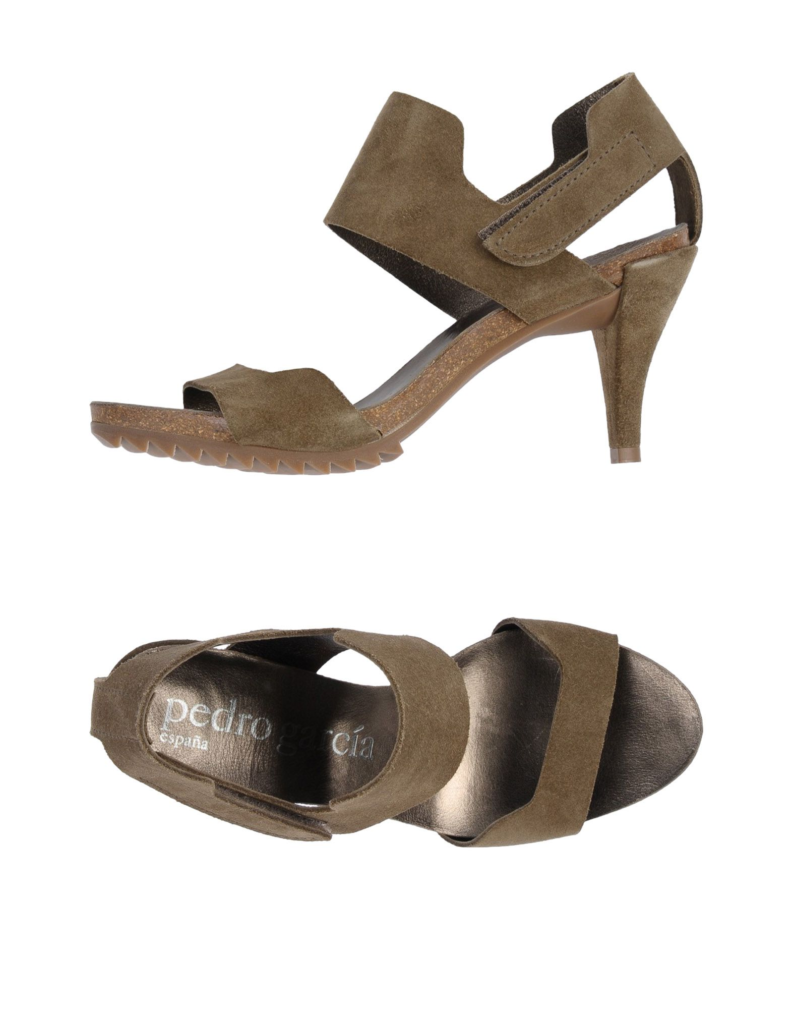 Gut um billige Schuhe zu tragenPedro García Sandalen Damen  11407868UX