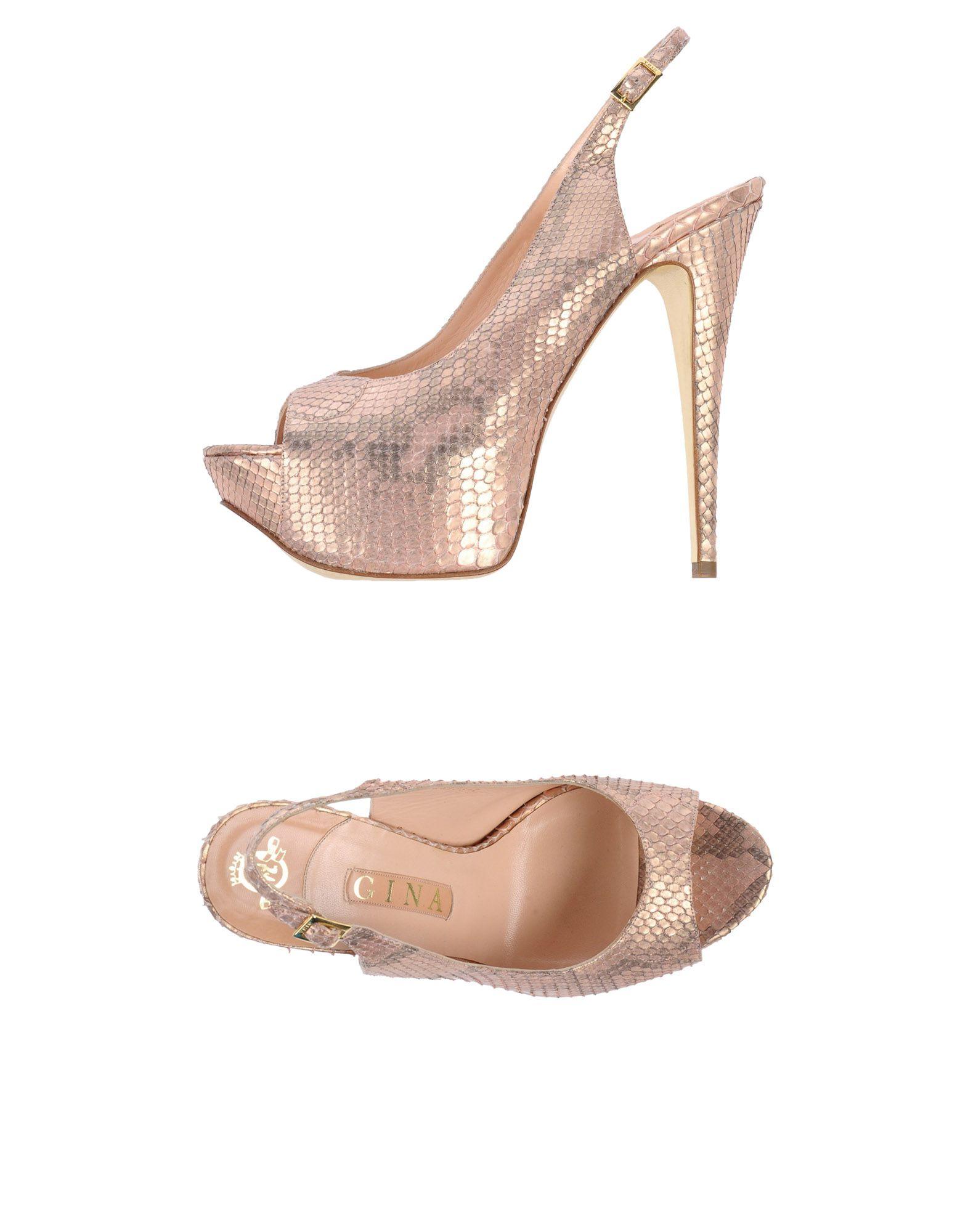 Rabatt Schuhe Gina Sandalen Damen  11407911CJ