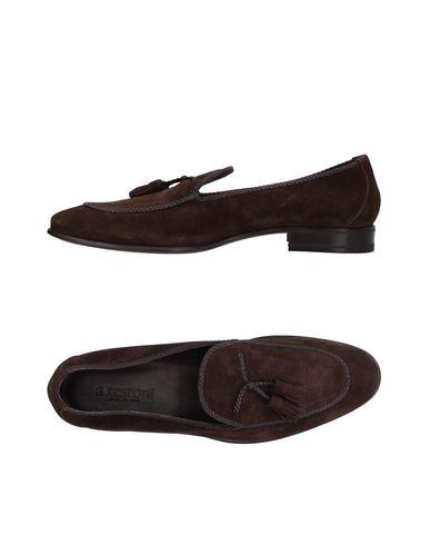 Zapatos con descuento Mocasines Mocasín A.Testoni Hombre - Mocasines descuento A.Testoni - 11408362RH Azul oscuro 3ac434