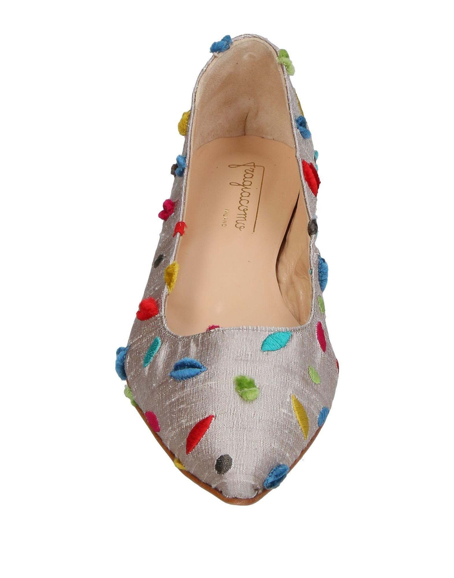 Stilvolle billige Ballerinas Schuhe Fragiacomo Ballerinas billige Damen  11408388RD 01a1ab
