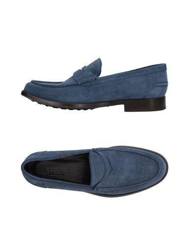 Zapatos con descuento Mocasín A.Testoni Hombre - Mocasines A.Testoni - 11408436VU Azul francés
