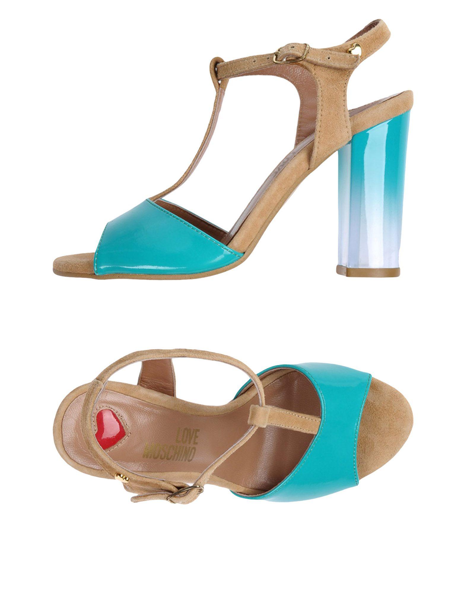 Love Love Love Moschino Sandalen Damen 11408759SKGut aussehende strapazierfähige Schuhe 6eec54