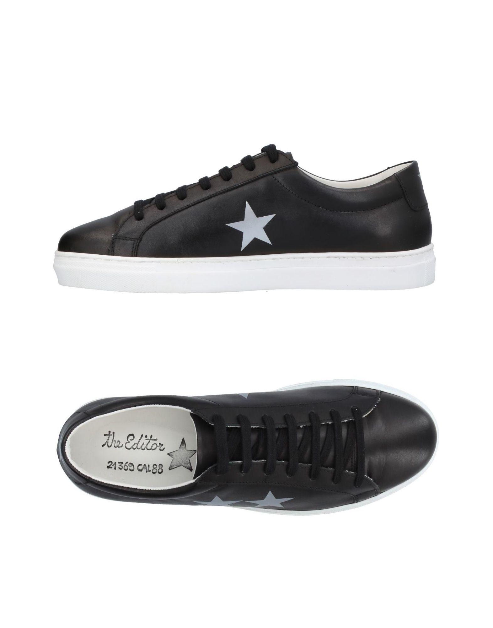 Rabatt echte Schuhe The Editor Sneakers Herren  11408891GJ