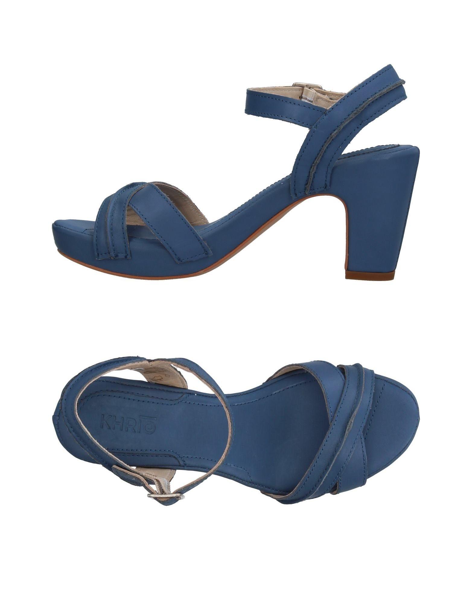 Haltbare Mode billige Schuhe Khrio' Sandalen Damen  11409220JI Heiße Schuhe