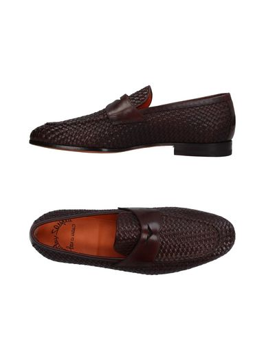 Zapatos Hombre con descuento Mocasín Santoni Hombre Zapatos - Mocasines Santoni - 11409414RP Café 8e4185