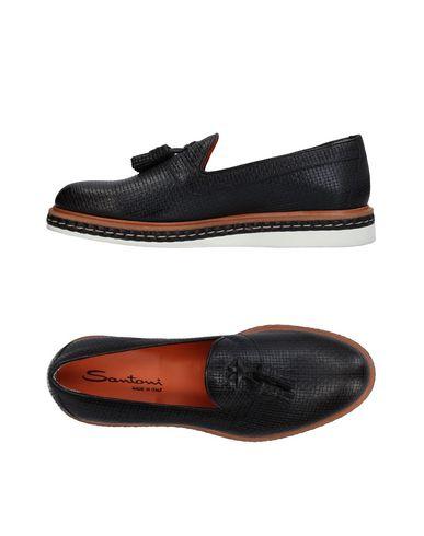 Zapatos con descuento Mocasín Santoni Hombre - Mocasines Santoni - 11409436IO Negro