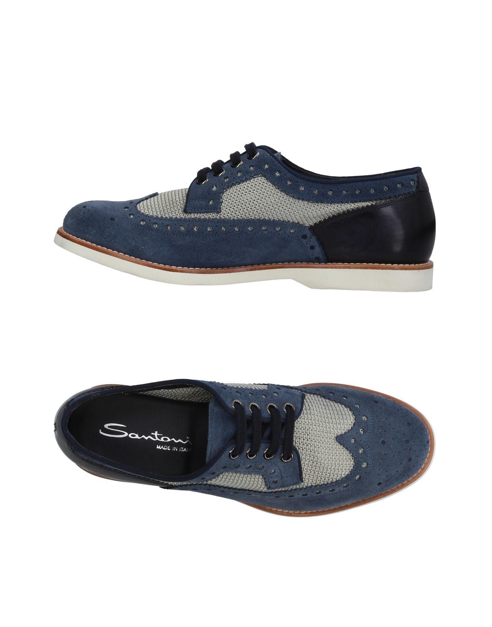 Günstige und modische Schuhe Santoni Schnürschuhe Herren  11409469VW