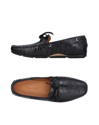 Zapatos con descuento Mocasines Mocasín Santoni Hombre - Mocasines descuento Santoni - 11409581WL Negro dd6670