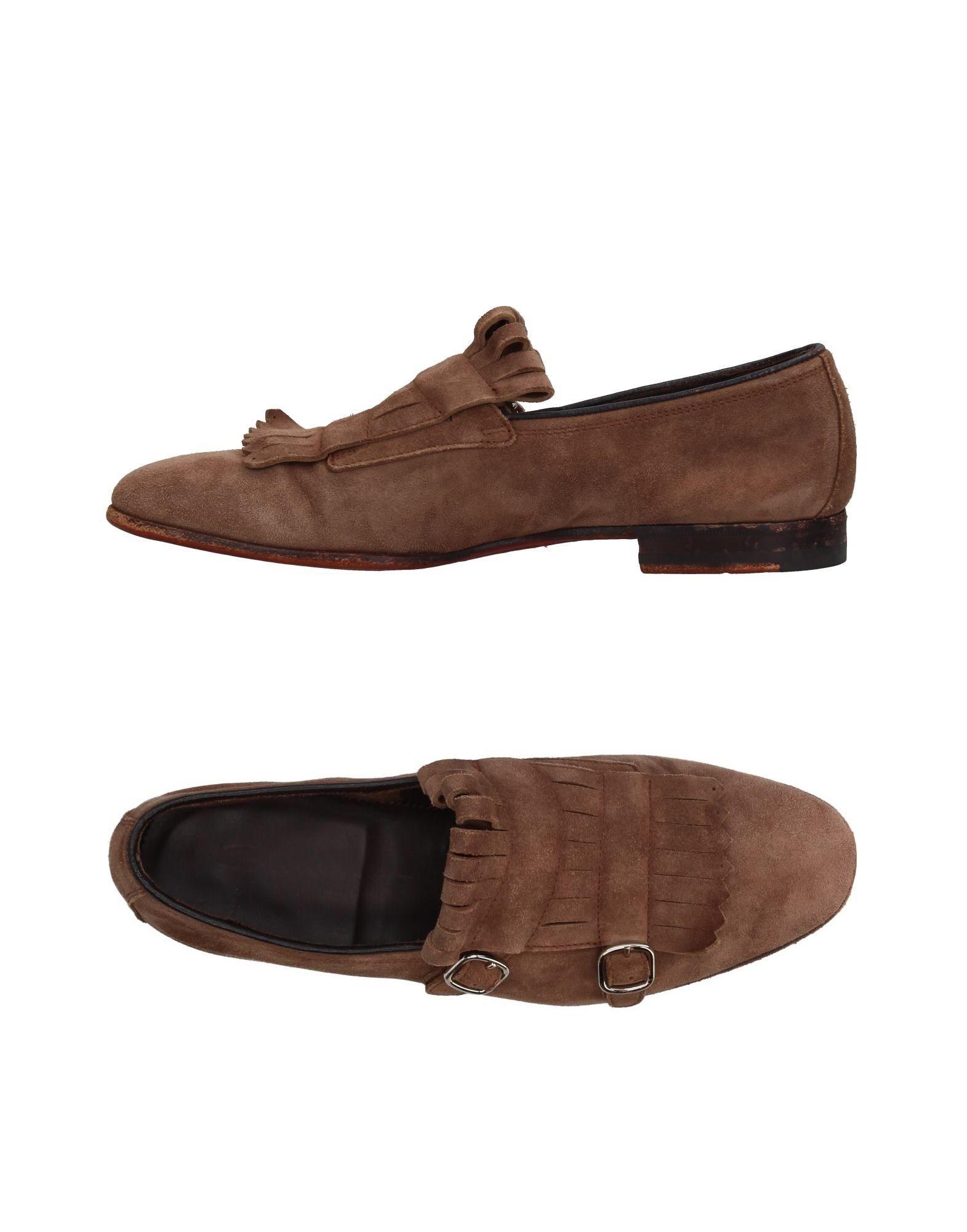 Moda Mocassino Santoni Uomo - 11409623SN