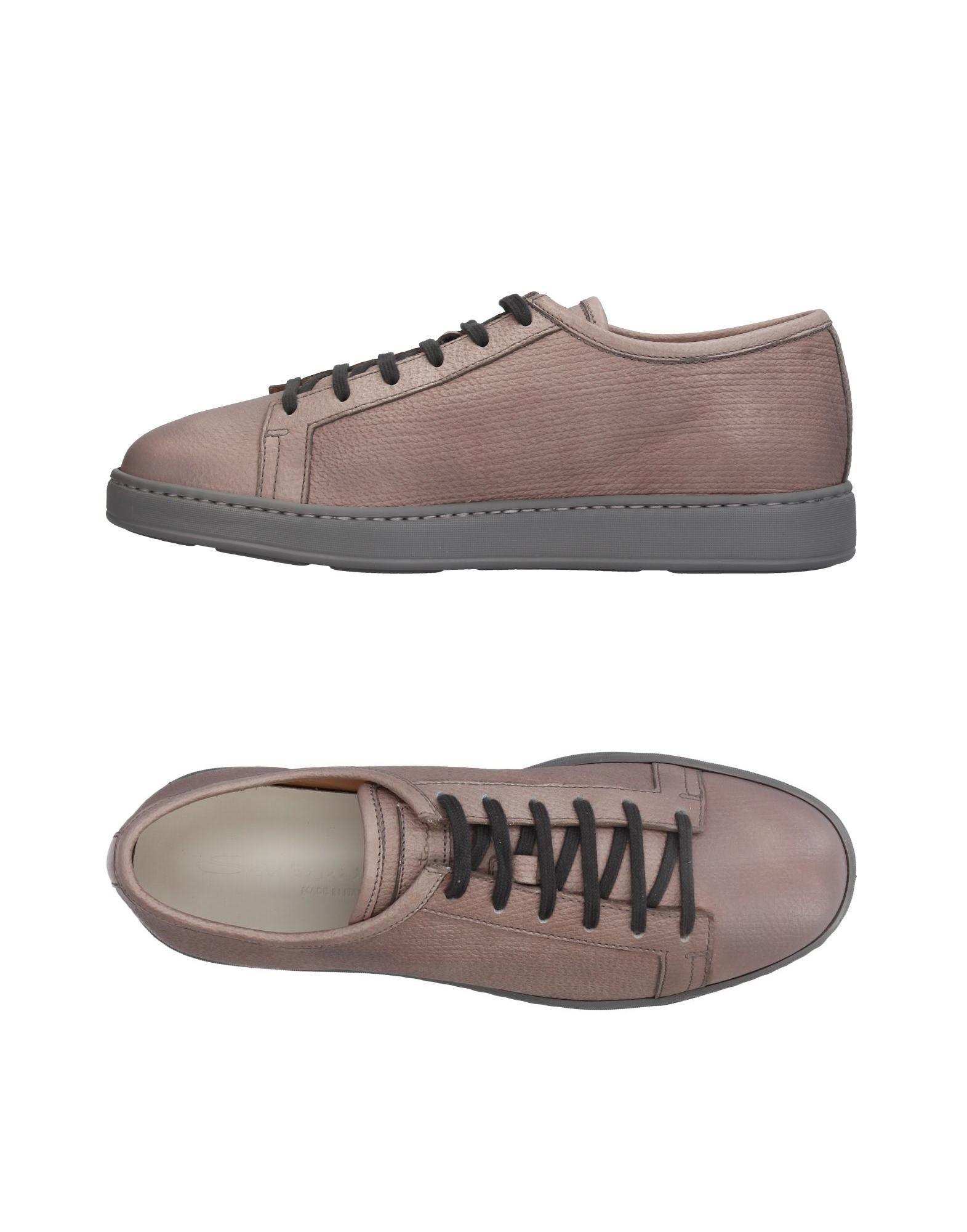 Haltbare Mode billige Schuhe Santoni Sneakers Herren  11409638AG Heiße Schuhe