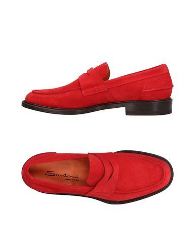 Zapatos con descuento Mocasín Santoni Hombre - Mocasines Santoni - 11409688PF Rojo