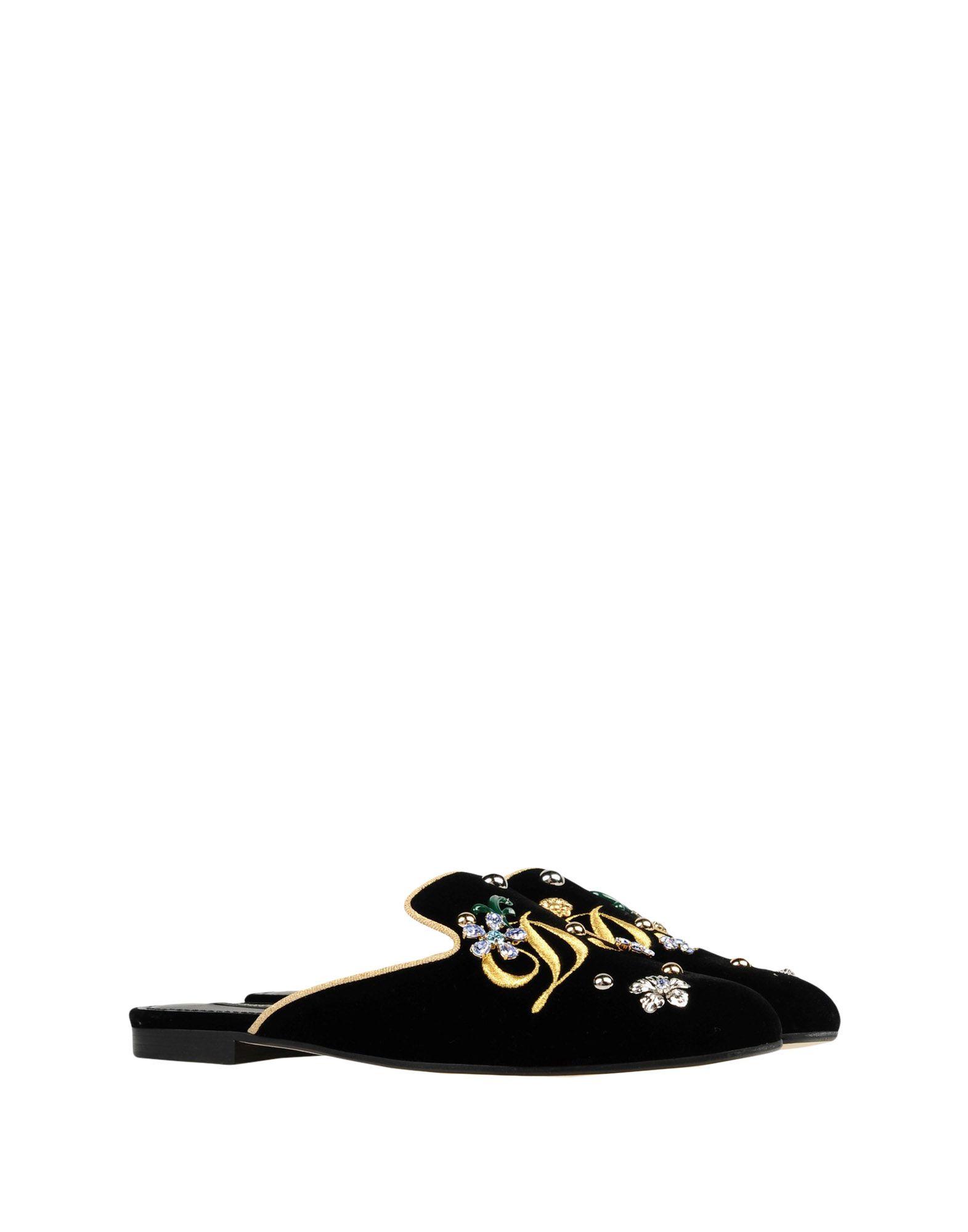 Dolce & Gabbana gut Pantoletten Damen  11409709MLGünstige gut Gabbana aussehende Schuhe 1a0a9f