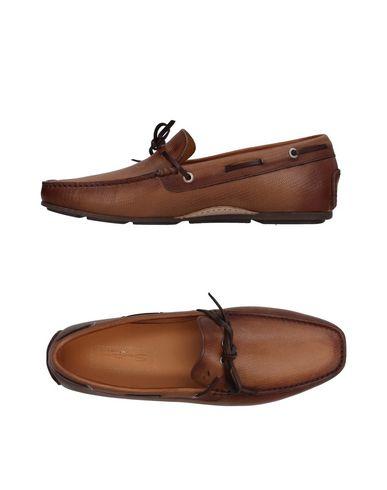 Zapatos con descuento Mocasín Santoni Hombre - Mocasines Santoni - 11409720LR Caqui