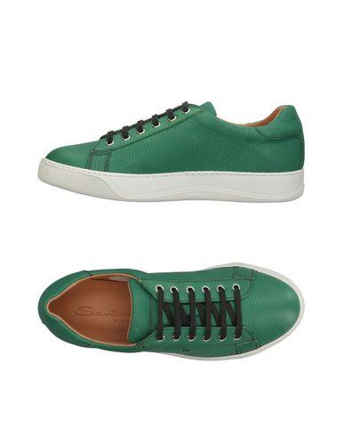 Zapatos con Santoni descuento Zapatillas Santoni Hombre - Zapatillas Santoni con - 11409752BU Verde 2afe1b