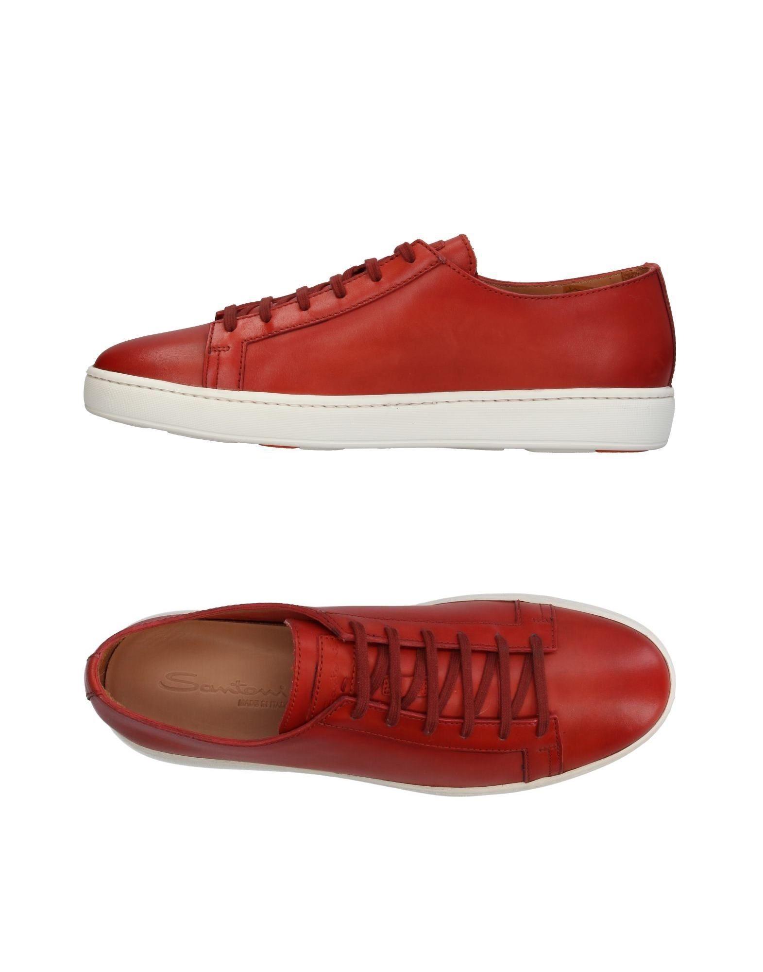 Günstige und modische Schuhe Santoni Sneakers Herren  11409795DU
