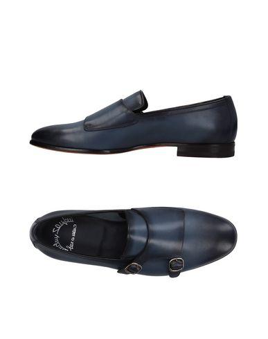Zapatos con descuento Mocasín Santoni Hombre - Mocasines francés Santoni - 11409801QQ Azul francés Mocasines 299b09