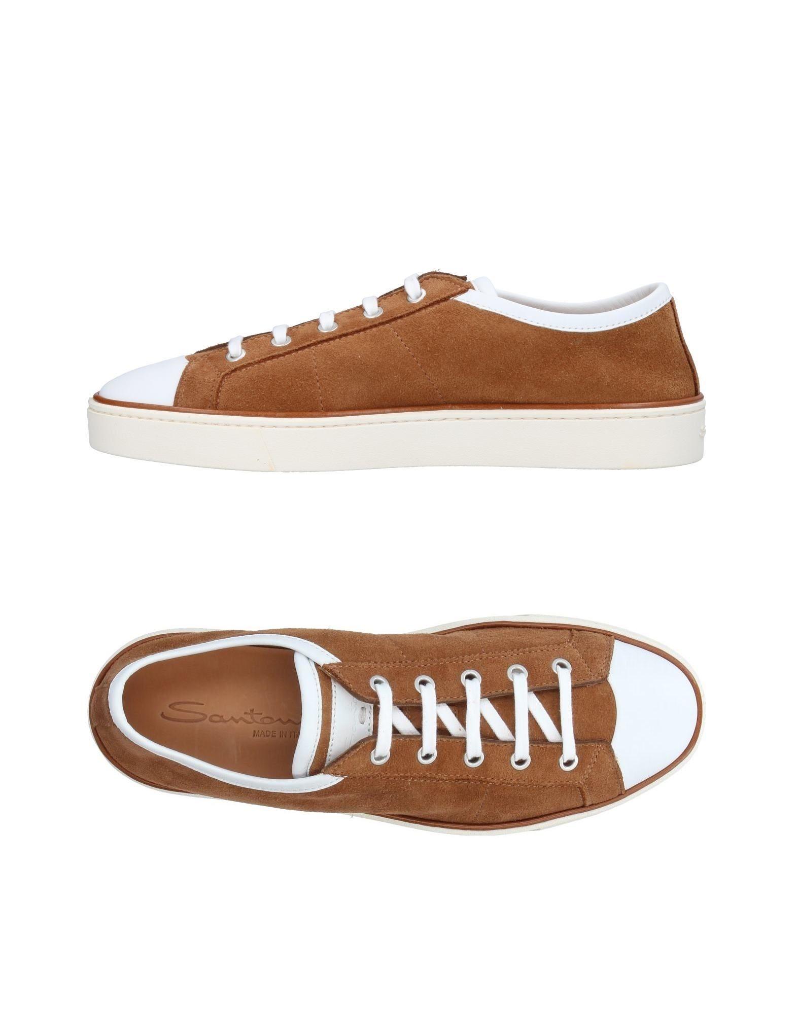 Haltbare Mode billige Schuhe Santoni Sneakers Herren  11409842AB Heiße Schuhe