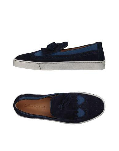 Zapatos con descuento Mocasín Santoni Hombre - Mocasines Santoni - 11409874LW Azul oscuro