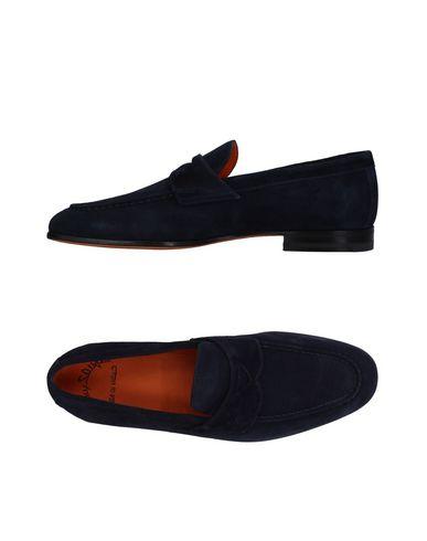 Zapatos con descuento Mocasín Santoni Hombre - Mocasines Santoni - 11409885IN Azul oscuro