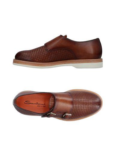 Zapatos cómodos y versátiles Mocasín Santoni Hombre - Mocasines Santoni - 11409931HR Azul oscuro