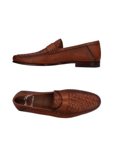 Zapatos con descuento Mocasines Mocasín Santoni Hombre - Mocasines descuento Santoni - 11409975VA Marrón 2e845b