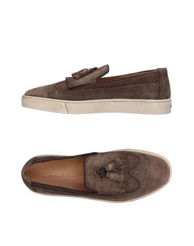 Zapatos con descuento Mocasín Santoni Hombre - Mocasines Santoni - 11410003QI Gris