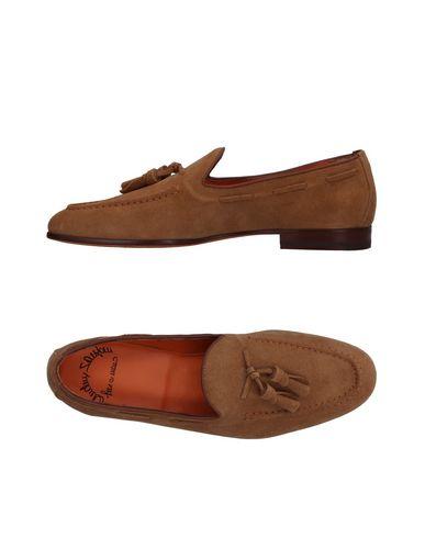 Zapatos con descuento Mocasín Santoni Hombre - Mocasines Santoni - 11410031UI Camel
