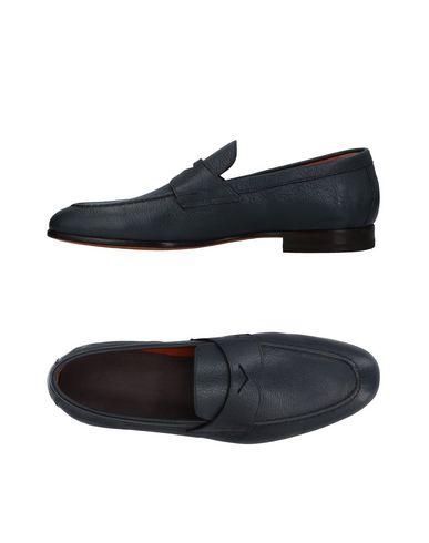 Zapatos con - descuento Mocasín Santoni Hombre - con Mocasines Santoni - 11410151FV Azul francés 268aa0