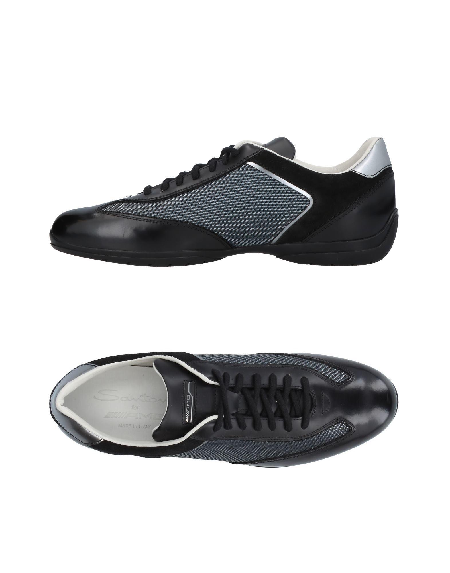 Moda Sneakers Santoni Uomo - 11410251AE