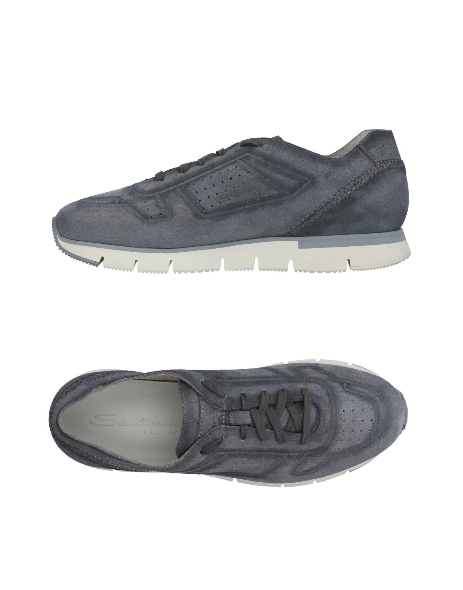 Haltbare Mode billige Schuhe Santoni Sneakers Herren  11410405NF Heiße Schuhe