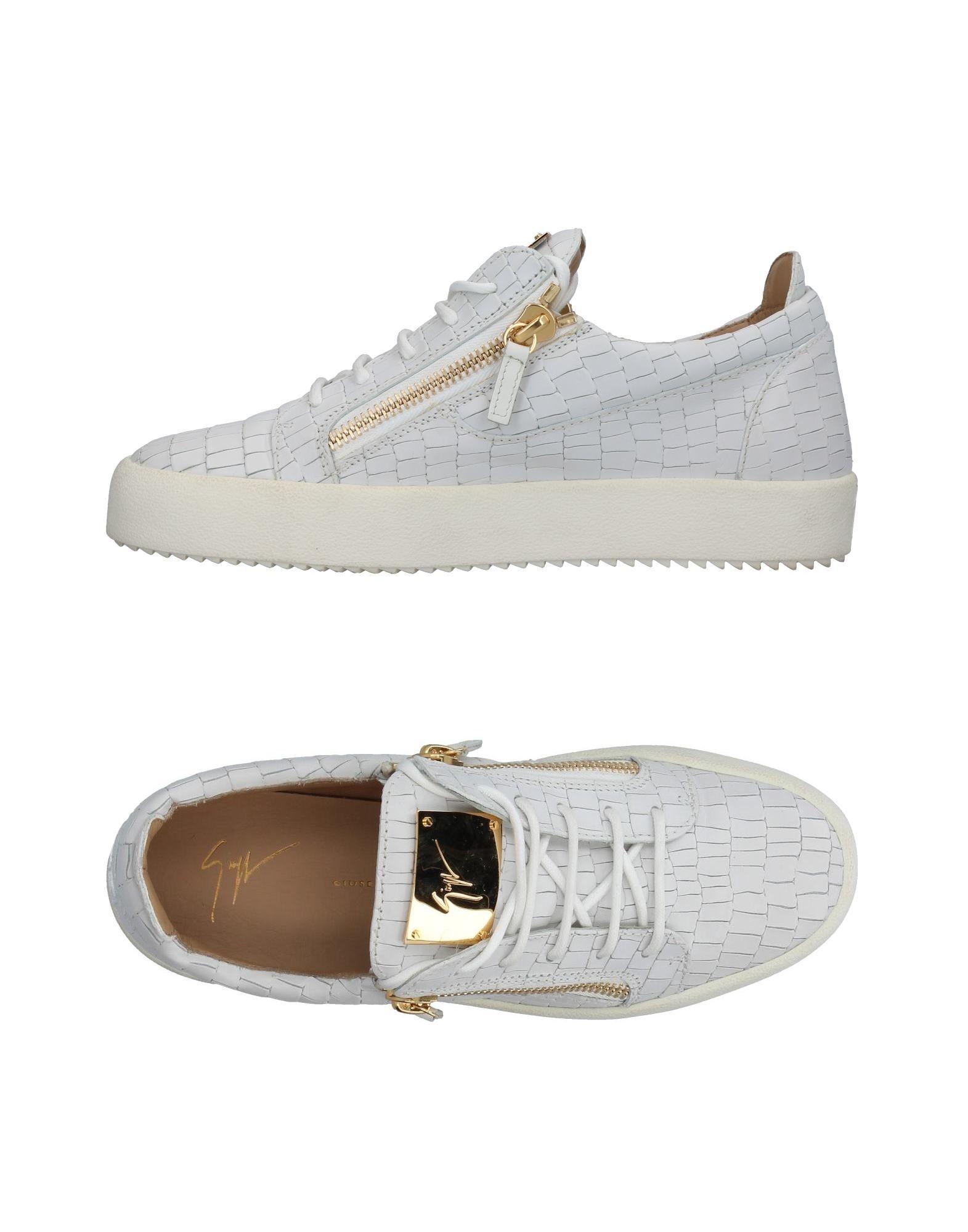 Sneakers Giuseppe Zanotti Homme - Sneakers Giuseppe Zanotti  Blanc Chaussures femme pas cher homme et femme