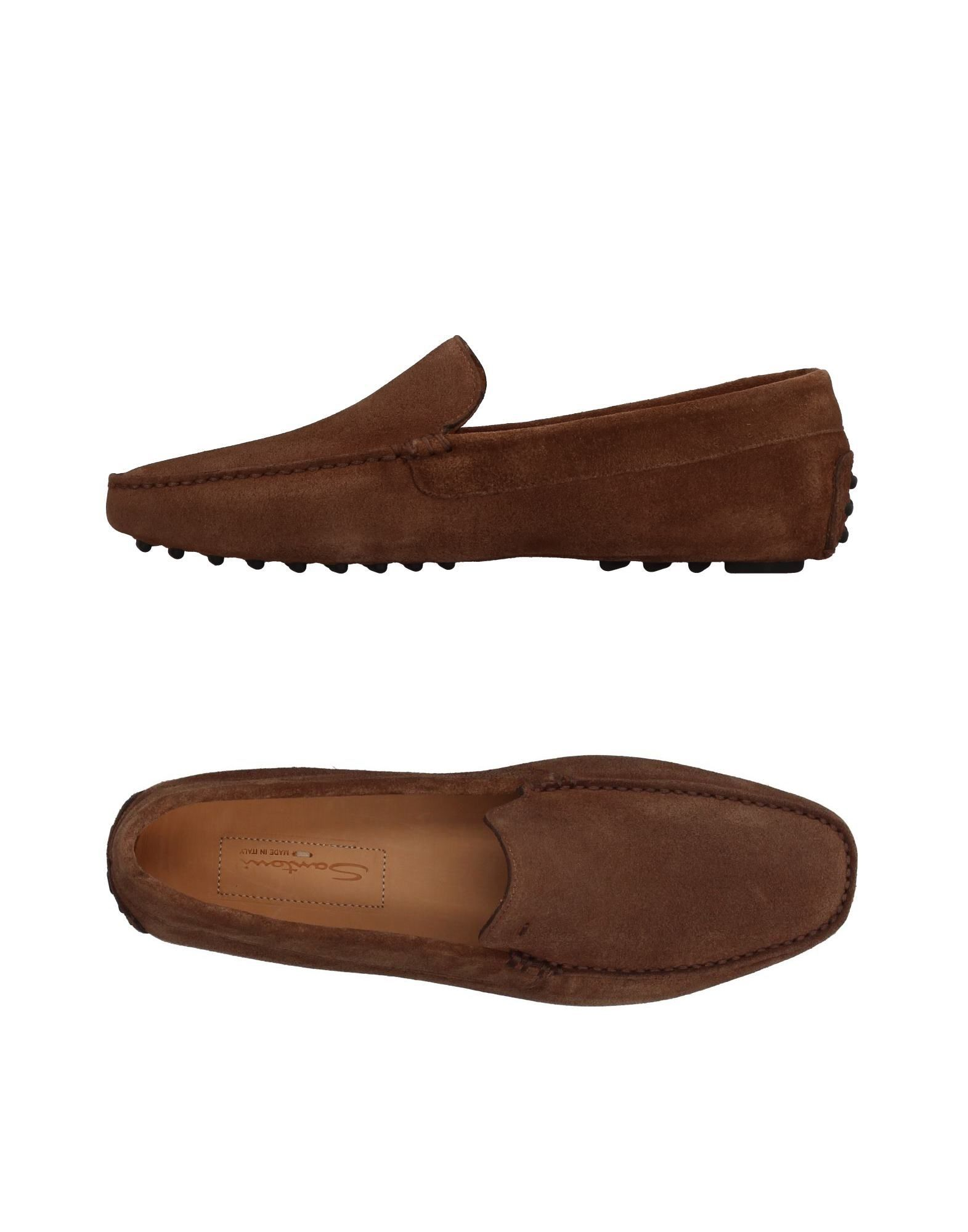 Haltbare Mode billige Schuhe Santoni Mokassins Herren  11410587DS Heiße Schuhe