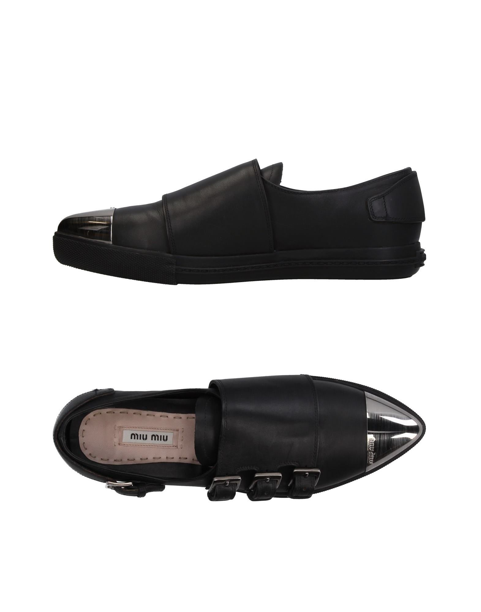 Rabatt Schuhe Miu Miu Mokassins Damen  11410593OV