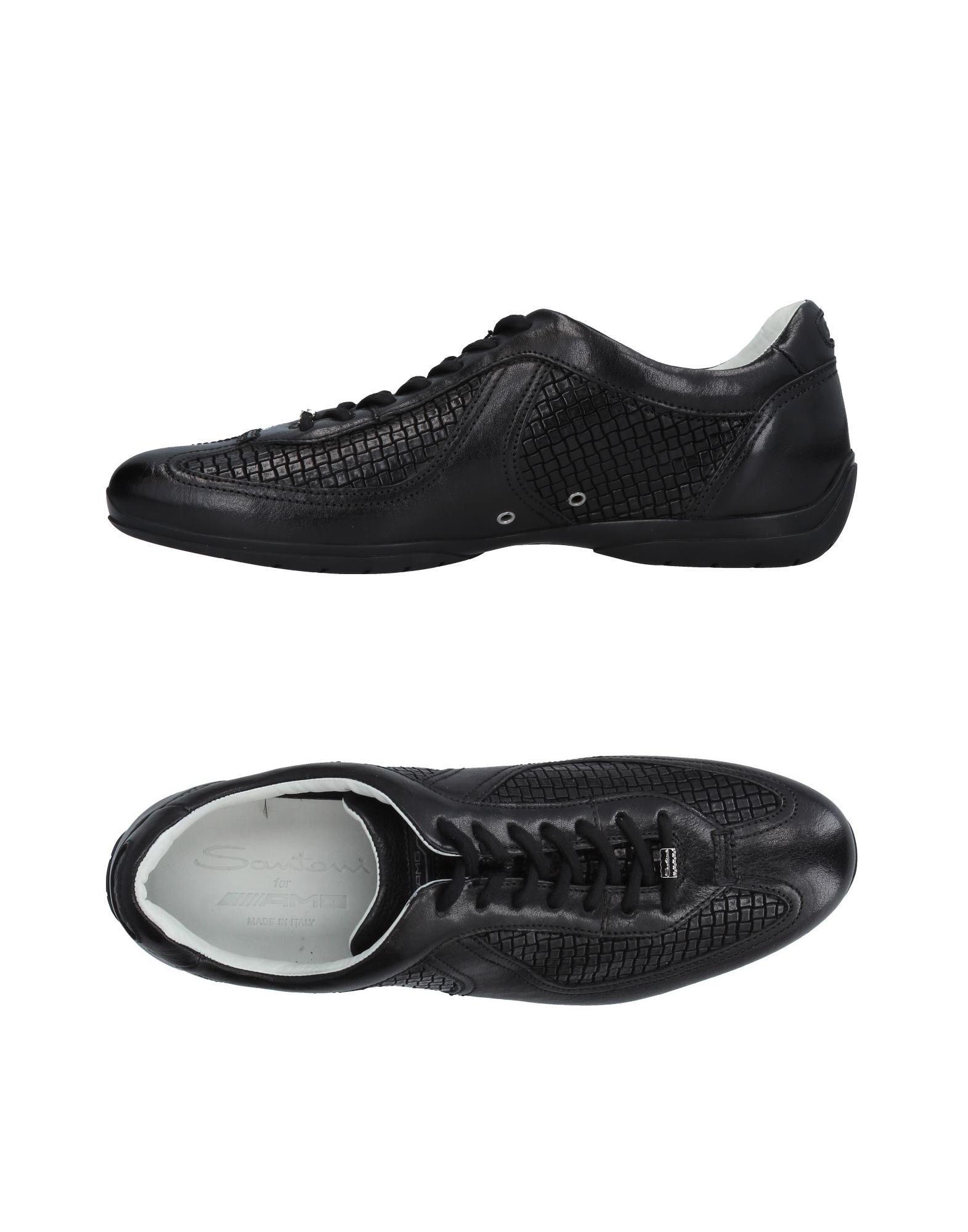 Santoni Sneakers Herren  11410624BK Gute Qualität beliebte Schuhe