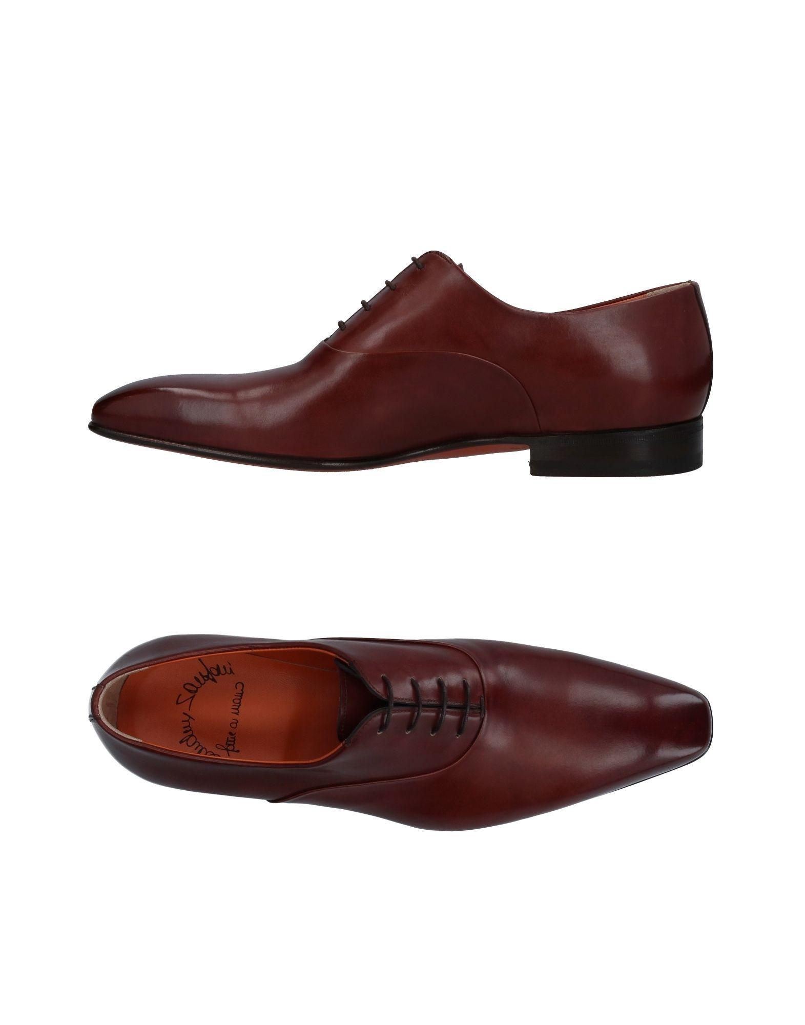 Günstige und modische Schuhe Santoni Schnürschuhe Herren  11410654EG