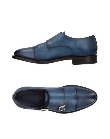Zapatos con descuento Mocasín Santoni Hombre - Mocasines Santoni - 11410694NQ Azul oscuro