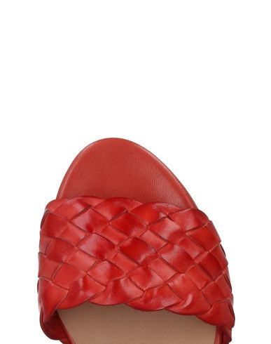 Gianna Luxury Meliani Gianna Luxury Sandales Sandales Meliani Rouge 4zq1g