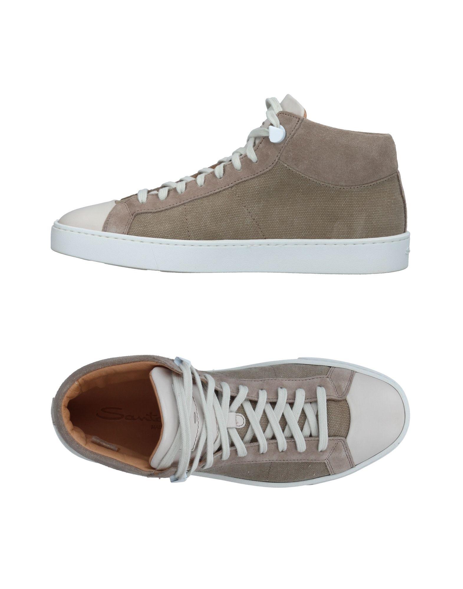 Sneakers Santoni Homme - Sneakers Santoni  Gris Chaussures femme pas cher homme et femme