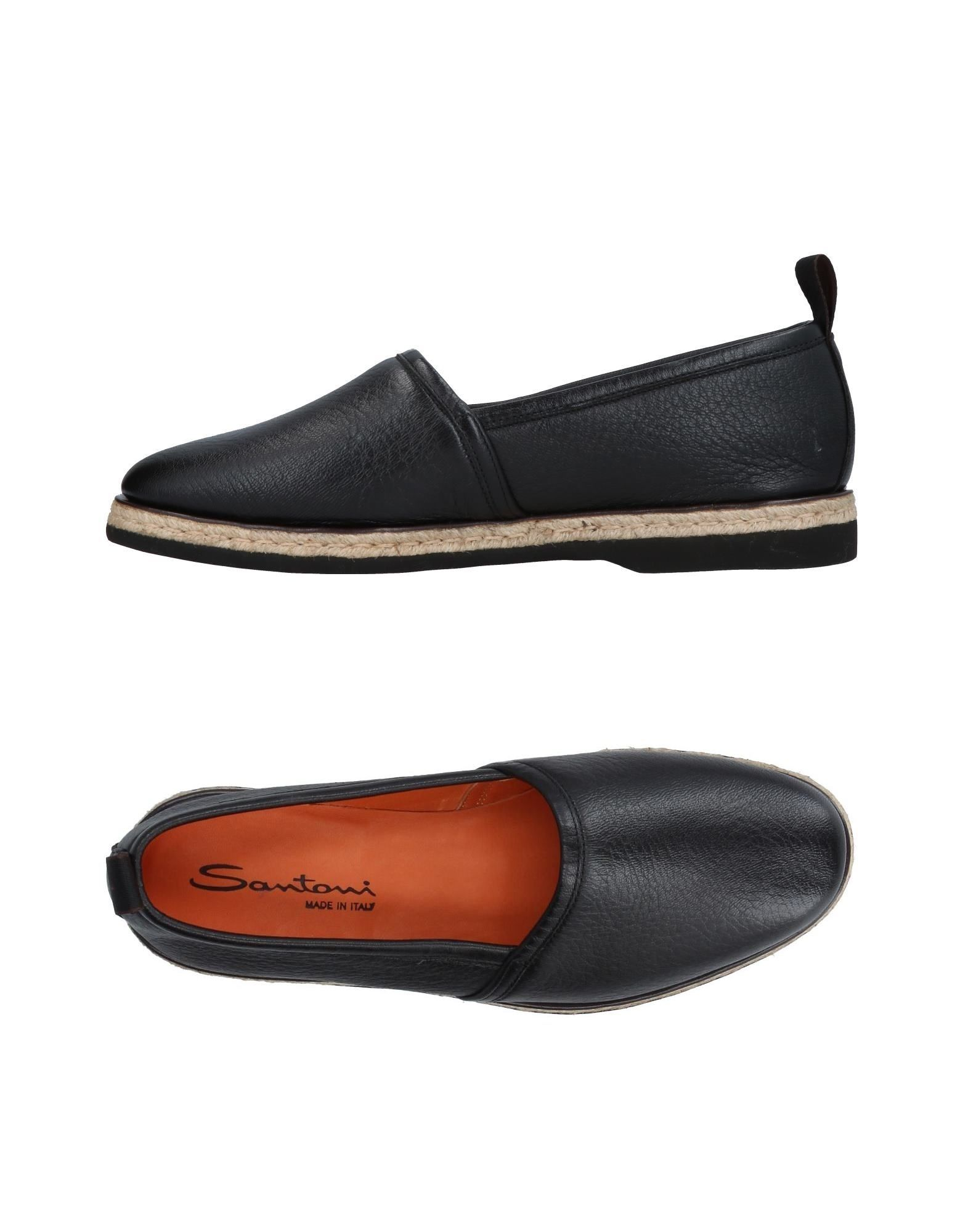 Haltbare Mode billige Schuhe Santoni Mokassins Herren  11410807JF Heiße Schuhe